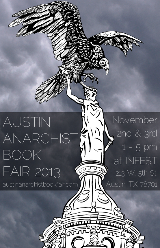 Austin Anarchist Book Fair Poster!